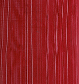 Red Strie finish