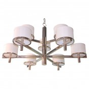 Silk Drum Nine Arm Chandelier