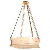 Boch Chandelier in Distressed Natural
