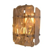Faceted Glass Sconce