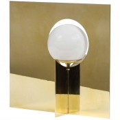 Intersection Table Lamp in Brass