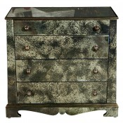 European Style Mirrored Chest