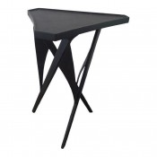 Triangular Steel Side Table