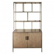 Bookcase in Faux Bronze