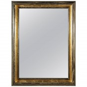 Cove Mirror in Gold Ceruse