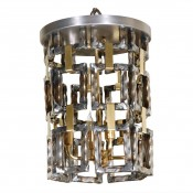 Link Fixture in Brass & Steel