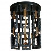 Link Fixture in Brass & Oil Rubbed Bronze