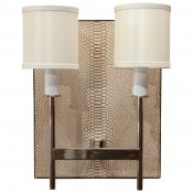 Python Backed Sconce Two-Arm